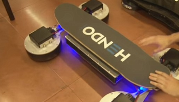 The REAL hoverboard is almost here: Hendo reveals latest levitating prototype developed with skate legend Tony Hawk (but you still need a copper floor)