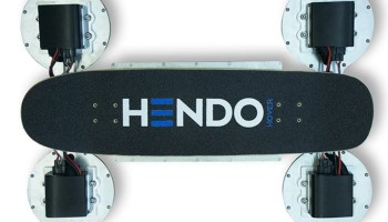 Latest Hendo Hoverboard Actually Hovers, Looks Like A Hoverboard