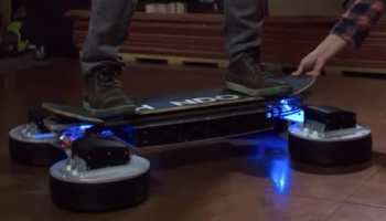 Riding the Hendo Hoverboard 2.0 Is Like Levitating the Gnar